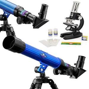 New Kids Télescope Et Microscope Set Science Educational Activité Créatrice Jeu-afficher Le Titre D'origine Produits De Qualité Selon La Qualité