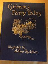GRIMM'S FAIRY TALES. Illustrated by Arthur Rackham. Folio Society.