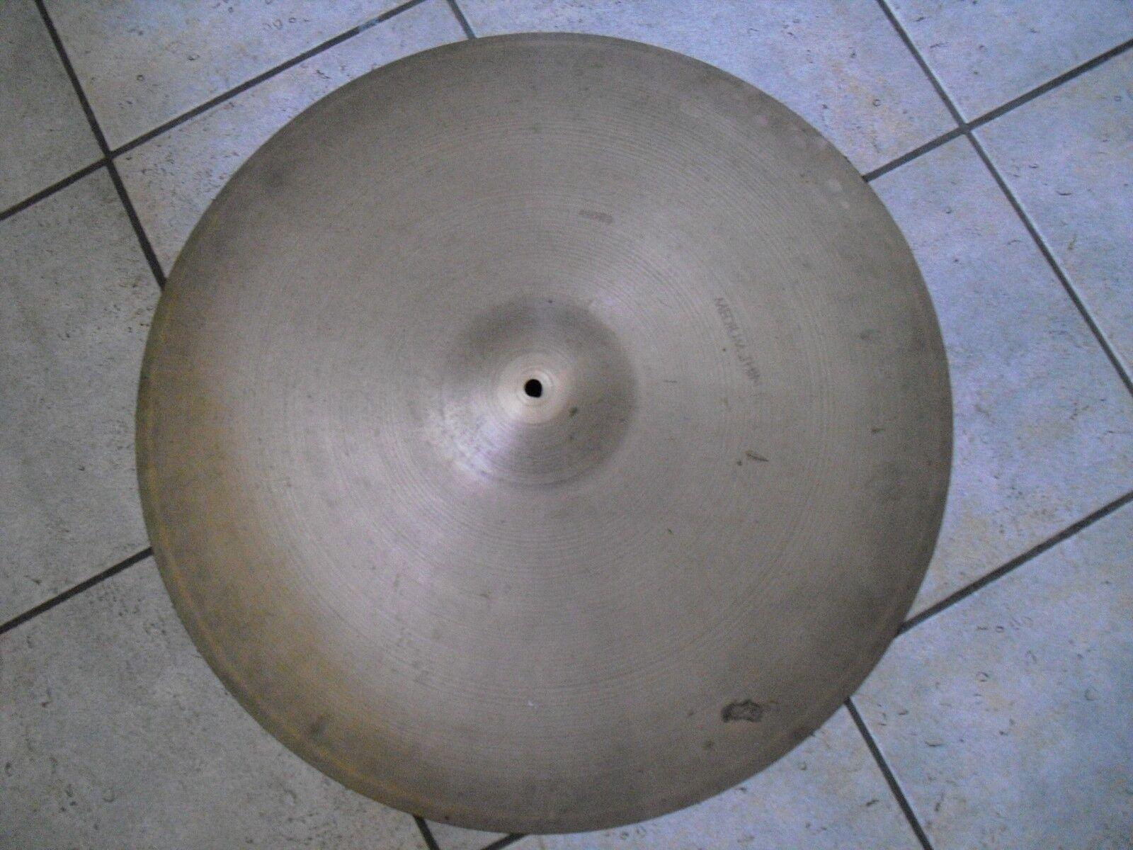 24  Vintage 70s thin stamp Avedis Zildjian Medium Thin Ride Cymbal 3550g