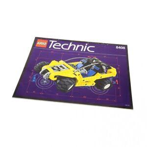 1x-Lego-Technic-Bauanleitung-A4-fuer-Set-Off-Road-Desert-Ranger-Buggy-8408