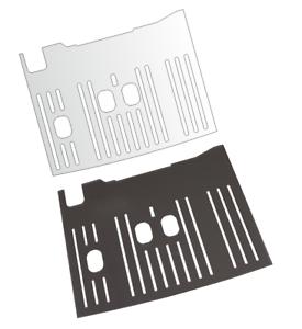 Schutzfolie für DeLonghi Dinamica Plus ECAM 370.95  Abtropfblech - Tropfblech