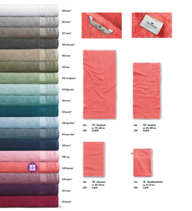 Tom Tailor-Plain Basic Towel 902 Dark Grey