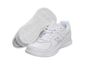 New Balance MW577 White Leather Lace Up