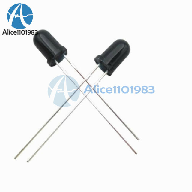 10PCS 5mm 940nm IR infrared Receiving diode LED Lamp Infrared receiver