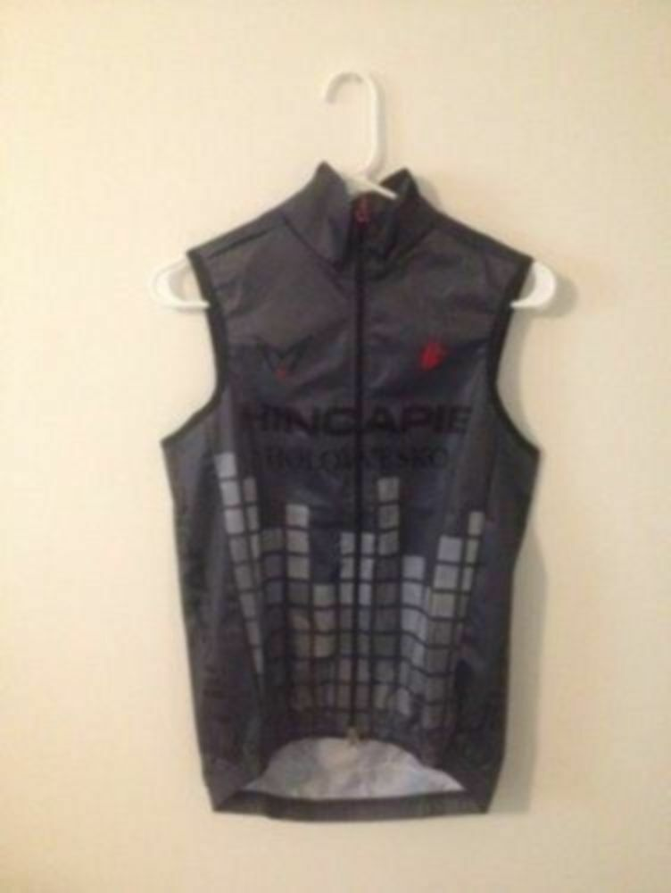 Hincapie Vest Racing Team Official Team Kit Element Windtex Cycling Vest Hincapie Größe S New c9f2de