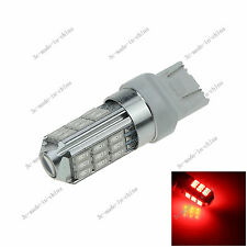 1X Red 7443 7440 27 SMD 5630 LED Brake Turn Signal Rear Light Bulb Lamp 12v G026