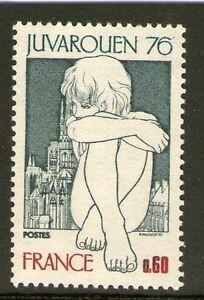 TIMBRE-1876-NEUF-XX-EXPOSITION-PHILATELIQUE-MONDIALE-DE-LA-JEUNESSE-ROUEN-1976