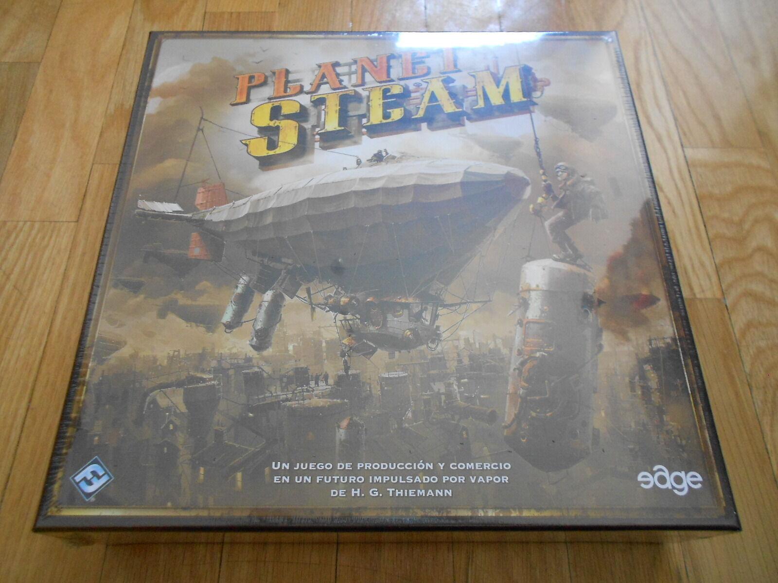 Juego de mesa - PLANET STEAM - EDGE - FF - steam punk