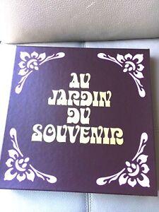 COFFRET-COLLECTION-12-ALBUMS-VINYLES-33-Tours-AU-JARDIN-DU-SOUVENIR