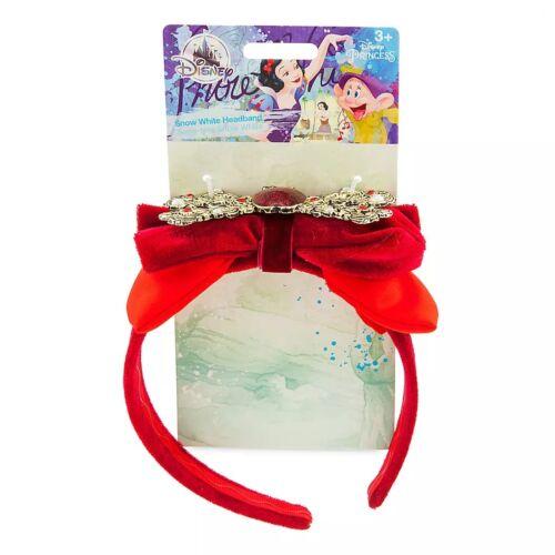 Pearls~APPLE CAMEO~NWT~Disney Store~2019 DELUXE~SNOW WHITE~Headband~Jewels