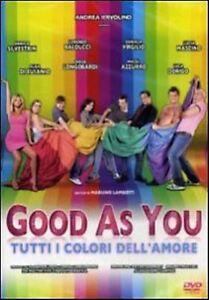 Good-As-You-Tutti-i-colori-dell-039-amore-2011-DVD-Nuovo-Silvestrin-Lamberti