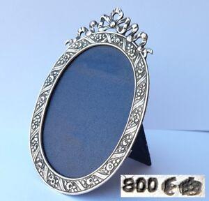 Um 1920 Al881 Einen Effekt In Richtung Klare Sicht Erzeugen Professioneller Verkauf Bilder Rahmen/ Fotorahmen 800er Silber
