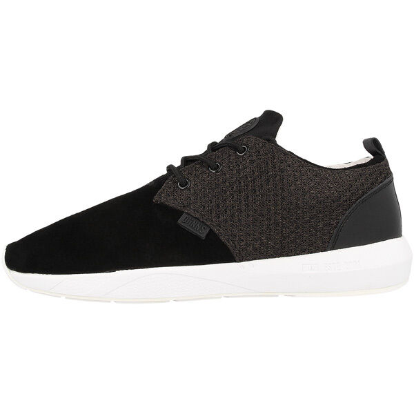 Djinn's Lau Run Mesh and Sneaker Skin Schuhe Sport Freizeit Sneaker and black Djinns LowLau b8a974