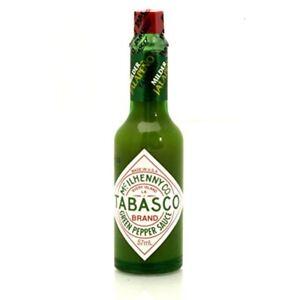 Tabasco Green Pepper Sauce-afficher Le Titre D'origine Doux Et AntidéRapant