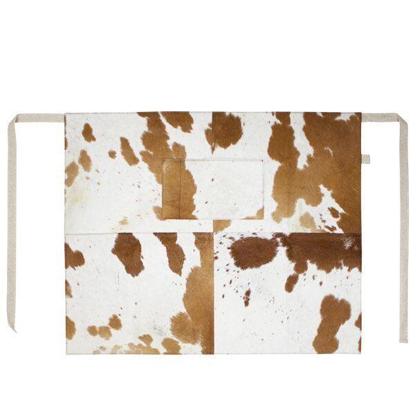 Mars & More Tablier Peau Marron Blanc (Semi)