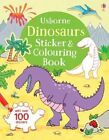 Dinosaurs Sticker and Colouring Book by Sam Taplin (Paperback, 2016)