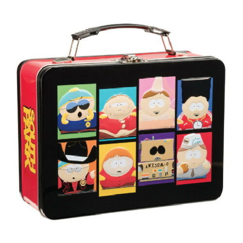 South Park The Many Faces of Cartman Large Carry All Tin Tote Lunchbox UNUSED