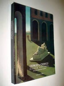 Giorgio de Chirico PICTOR OPTIMUS pittura disegno teatro | eBay