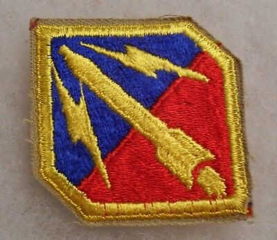 HARDER TO FIND 1950/'S US ARMY BALLISTIC MISSILE UNITS COTTON CUT EDGE NO GLOW