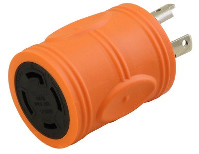 30 Amp NEMA L5-30 Male to 30 AmpNEMA L14-30 Female Adapter Cord by AC WORKS®