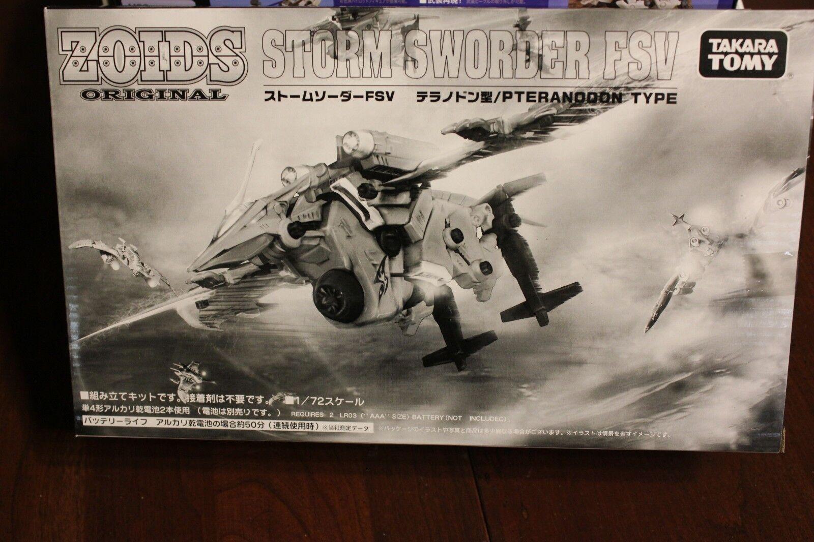 Zoids Original  Storm Sworder FSV Mint in Box  beaucoup de concessions