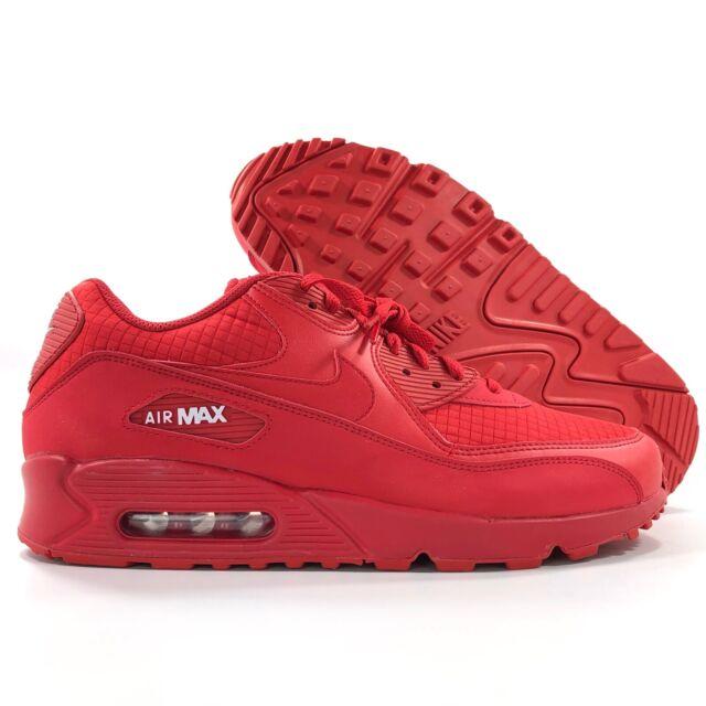Nike Air Max 90 Essential Red white Men Women1 | Nike Air