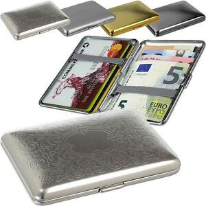 SMARTCAZE - Edelstahl - Visitenkartenetui Kreditkartenetui - RFID ec Karten Etui