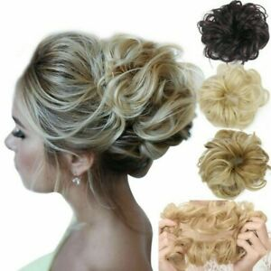 Details about Messy Rose Bun Easy,To,Wear Stylish Hair Scrunchies