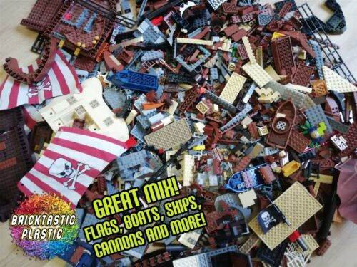 x3400pcs 4KG Pirates Caribbean Bulk Moc// Packs Ship Parts Guaranteed! LEGO -