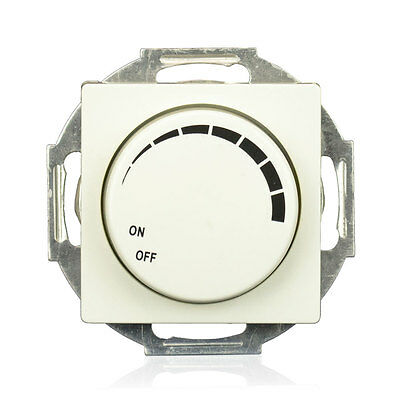 Schalter-Serie mit VDE Serienschalter Schuko-Steckdosen Lichtschalter Dimmer Set