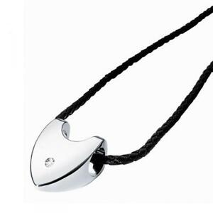 Collana-Girocollo-MORELLATO-BOLLE-S9501-Acciaio-Cuore-Diamante-Naturale