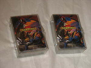Lot-158-Marvel-OverPower-Card-Game-cards-1995-by-Fleer