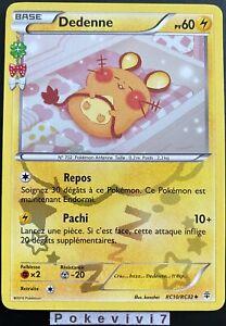 Carte-Pokemon-DEDENNE-RC10-RC32-Holo-XY-GENERATIONS-FR-TBE