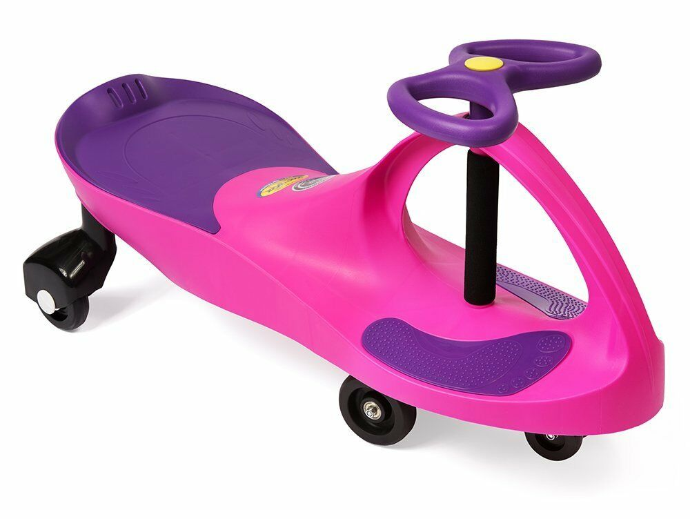 BRANDNEW PINK PlasmaCar Pink Purple Ride Ride Ride On Toy Ages 3+ yrs Twist Turn Wiggle d24a86