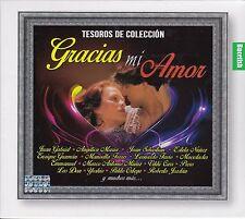 Gracias Mi Amor Tesoros de Coleccion Juan Gabriel,Leo Dan,Piero,Palito Ortega