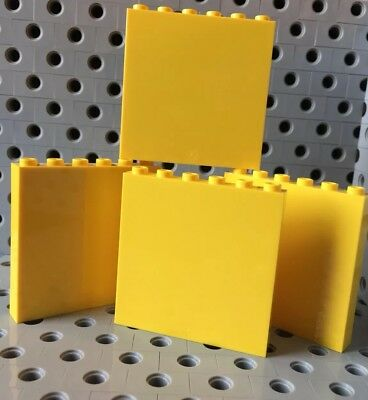 LEGO Yellow 1x6x5 Wall Panel Piece