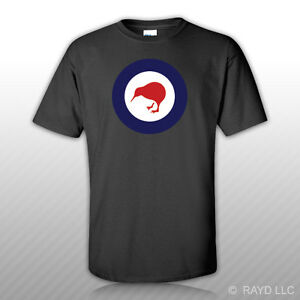 Details about Royal New Zealand Air Force Roundel T Shirt Tee Shirt RNZAF Zealander Kiwi NZL