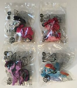 2019 Burger King Hasbro My Little Pony Toys Complete Set Of 4 Free Shipping Ebay