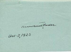 Newton-D-Baker-Signature-of-the-U-S-Secretary-of-War-During-World-War-One