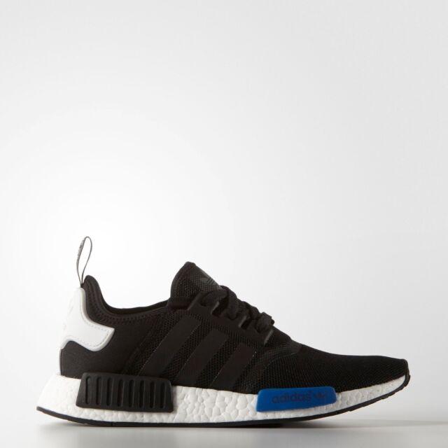 low priced ea4a6 db48b Adidas Originals NMD R1 Runner Boost Tokyo Core Black Blue White S79162  Mesh PK