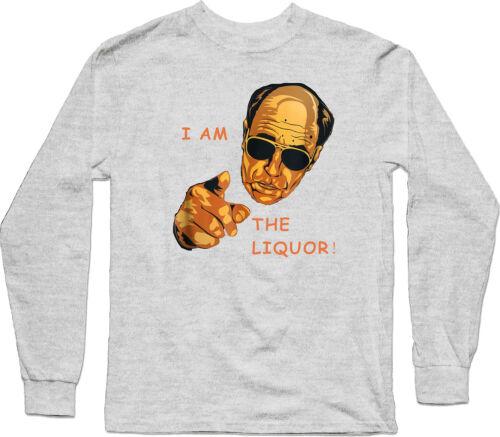 I Am The Liquor Funny Jim Lahey Trailer Park Boys Vintage Long Sleeve Tee