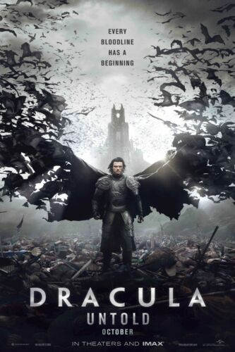 Dracula untold  Movie l Poster 30 in x 22 in Fast Shipping