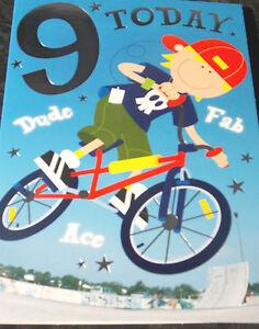 Boys-9th-Birthday-Card-by-Selective-cards-26-available
