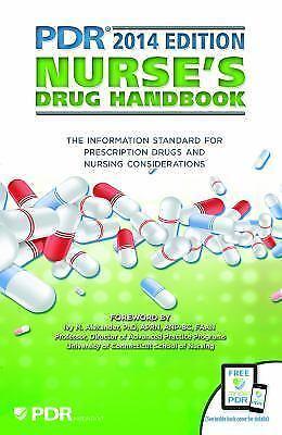 PDR Nurse's Drug Handbook (Physicians' Desk Reference Nurse's Drug-ExLibrary