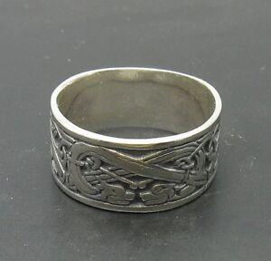 925-Sterling-silver-ring-Drachen-band-R000284-Empress