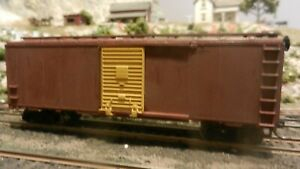 Athearn-HO-BB-Unlettered-40-039-Boxcar-Upgraded-Exc