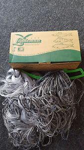 Filet De Pêche Stellnetz 30 M X 1,80mx 26 - 55 Mm Finland-afficher Le Titre D'origine