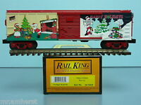 Mth 30-74532 2009 Happy Holidays 40' Box Car