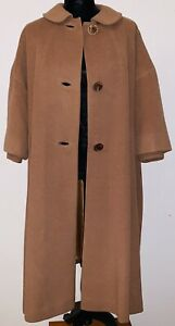 elegant shoes brand new buy popular Details about Vtg 1940- 1950 Swing Coat , Camel Brown, A Line Overcoat, Coat