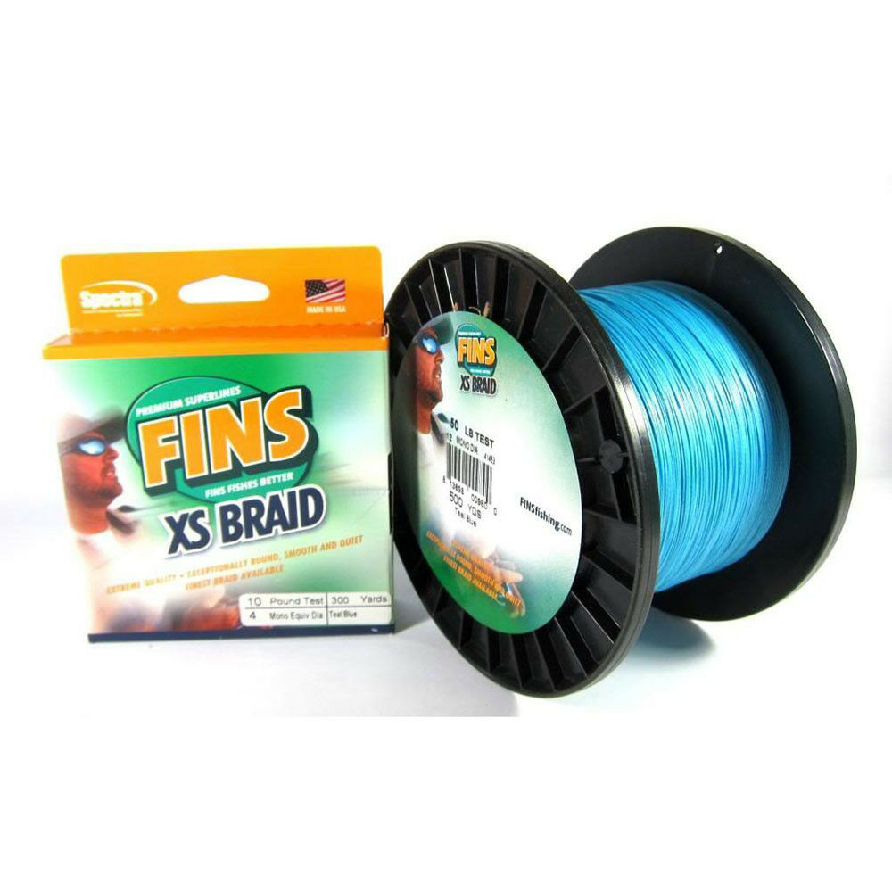 Sale  XS Extra Smooth 8 Ply Braided Spectra Line 30lb 500yds Green (5178) Fins  big savings